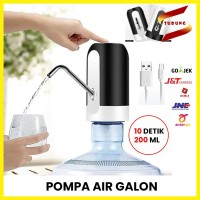 Pompa Air Galon Elektrik Kosan Water Pump Electric Charge Rechargable