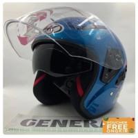 helm half face/Helm NHK Motor SNI Half Face Helem Dewasa Double Visor