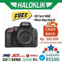 CASHBACK Nikon D5600 BO Body Only DSLR Camera