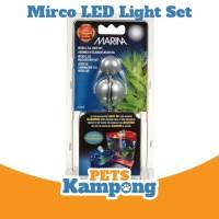 Lampu LED Mikro set Aquarium merek Marina