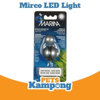 Lampu berwarna LED Mikro Aquarium merek Marina