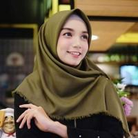 Segi Empat Hijab Scarf / Jilbab Hijab Instan Terbaru / Kerudung Instan