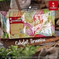 Chefmate Carnival Cokelat TIRAMISU 500gr Coklat Chocolate Compound