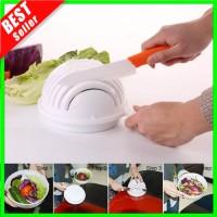 ✅COD Cutter Bowl Salad Mangkok Pemotong Salad Sayur Buah Higienis