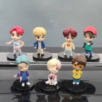 Mainan figure - Bts figure set 7 Pcs kpop bangtan boys
