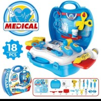 Mainan dokter dokteran koper - Docter set