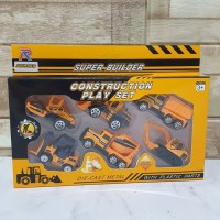 Mainan Diecast Construction Metal Truck Kontruksi