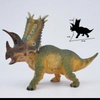 Mainan Dinosaurus Pentaceratops mirip Triceratops Figure Action