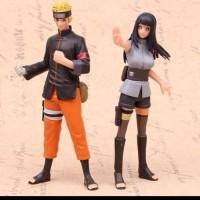 Action Figure Anime Hokage Naruto Hinata Set 2