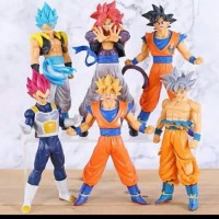 Mainan dragon Ball Super Set 6 Action Figure Son Goku Series