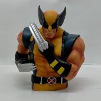 Celengan Marvel X-Men Wolverine Coin Bank Pajangan Figure