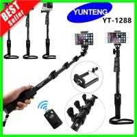 ✅COD Tongsis Bluetooth Yunteng YT 1288 Panjang 125cm Holder U Yunte