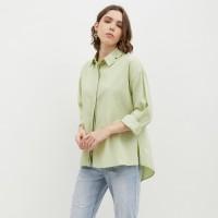NONA Basic Oversized Shirt Mint