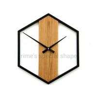 Jam Dinding Kayu Minimalis Custom Spesial Khusus Bentuk Unik Aesthetic