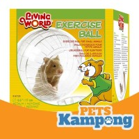Bola latihan Medium hamster Syrian gerbil sugar glider Living World