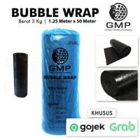 GOSEND - GRAB BUBBLE WRAP HITAM GMP BLACK 125 CM x 50 METER GU
