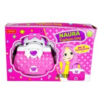 Mainan Anak Perempuan Naura Fashion Bag Dressing Beauty Tas Cantik