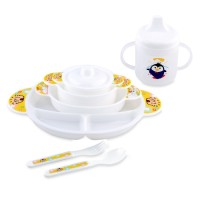 Lusty Bunny Perlengkapan Makan Bayi MPASI Baby Gift Set Feeding Gelas