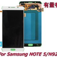 LCD SAMSUNG NOTE 5 - N920 - WHITE ORG - SMS - TOUCHSCREEN - TS
