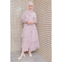 HijabChic Hawa Lavender Tulle