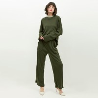 NONA Homewear Set Long Green