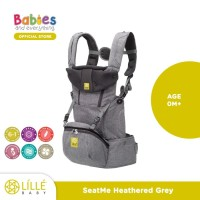 LILLEbaby Baby Carrier SeatMe All Seasons Heathered