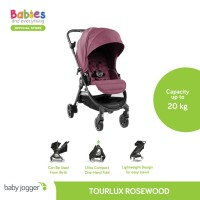 Baby Jogger Tour Lux Stroller - Rosewood Rosewood