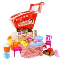 Mainan Anak Hypermarket Hypermarket Shopping Cart Trolley Troli