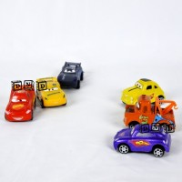 Mainan Anak Die Cast Chariots Cars 3 Mobil Balap Speed Challenge Isi 6