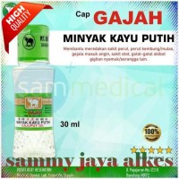 READY STOCK CAP GAJAH MINYAK KAYU PUTIH 30ML