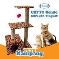 Mainan kucing Cat Condo tree Garukan scratcher tingkat