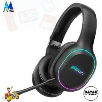 Headphone headset Gaming Wireless Bluetooth Stereo LED with Mic