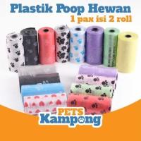 Refill Plastik kotoran poop hewan Kucing Anjing