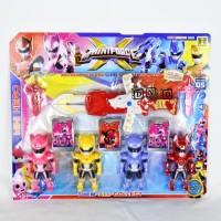 Mainan Anak Action Figure Mini X Force Ranger Hero Pedang 22-4