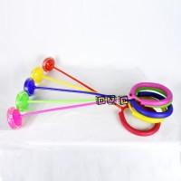 Mainan Anak Spinner Kaki Foot Skip Jumping Ball Bola Menyala Olah Raga