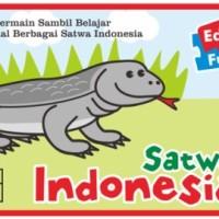 Mainan Anak Kartu Edukasi iSpell EduFun Puzzlo Hewan Satwa Indonesia