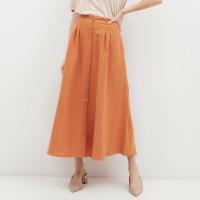 NONA Basic Maxi Skirt Terracotta