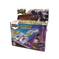 Mainan Anak Robot Monkart Megaroid Bitroid Moncha Combination 2 in 1