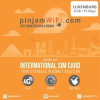 Sim Card Luxemburg Unlimited FUP 6 GB for 15 Days |Simcard Luxemburg