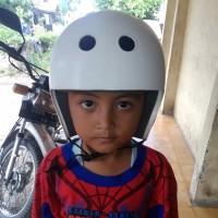 helm anak sepeda rafting flying fox tubing skateboard sepatu roda