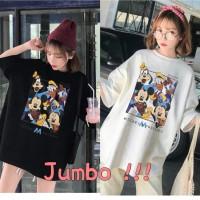 Damai fashion jakarta - baju atasan KAOS JUMBO - big size MY FRIENDS -
