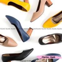 High Heels Wanita MARION REALPICT Hak Tahu 7cm Women Shoes Polos