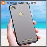 Case Xiaomi Redmi 3s 3 Pro Soft Hard TPU Transparan Slim Casing Cover - Hitam