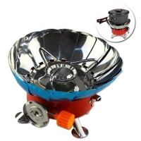 Kompor windproof portable gas mini alat masak camping