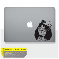 Decal Sticker Macbook Sticker Laptop Aksesoris Macbook Gorila