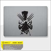 Decal Sticker Macbook Sticker Laptop Aksesoris Macbook Wolverine