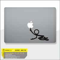 Decal Sticker Macbook Sticker Laptop Aksesoris Macbook Icon Man