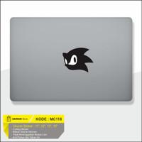 Decal Sticker Macbook Sticker Laptop Aksesoris Macbook Sonic Landak