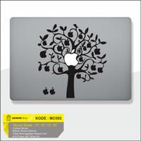 Decal Sticker Macbook Sticker Laptop Aksesoris Macbook Apple Tree
