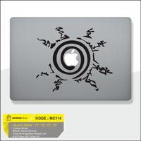Decal Sticker Macbook Sticker Laptop Aksesoris Macbook Naruto